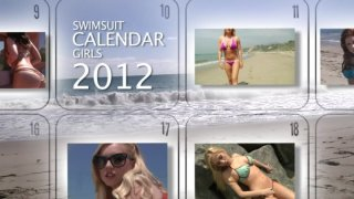Streaming porn video still #1 from Swimsuit Calendar Girls 2012
