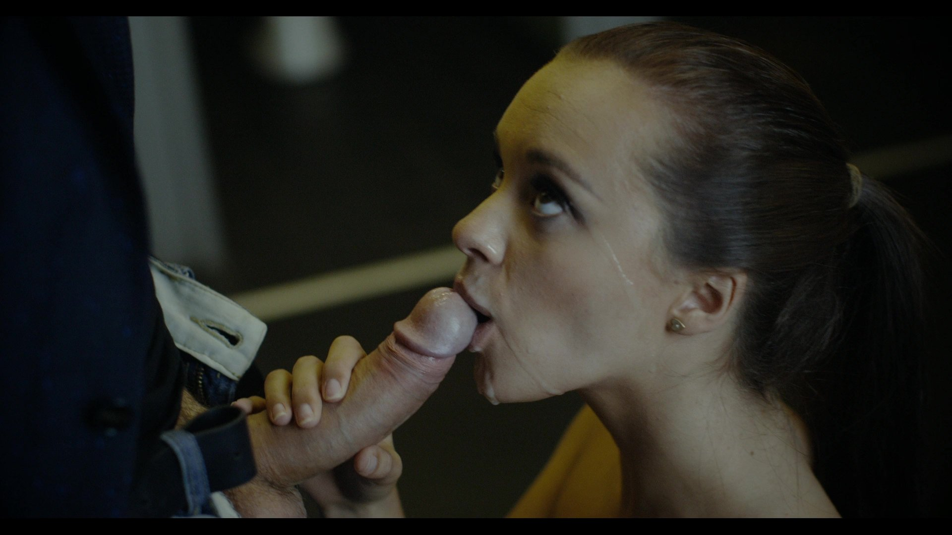 Russian couple blowjob