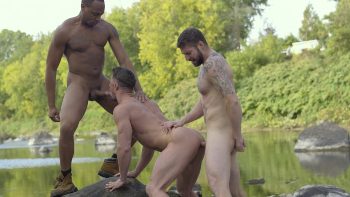 Streaming porn video still #1 from Into the Woods (Falcon Studios)