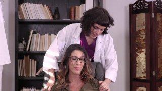 Streaming porn video still #1 from Lesbian Hospital Affairs 2