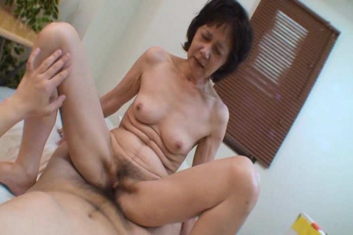 Young granny old squirt japan alba