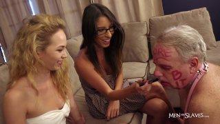 "Streaming porn video still #9 from Sissy Boys ""Good Gurls Serve"""