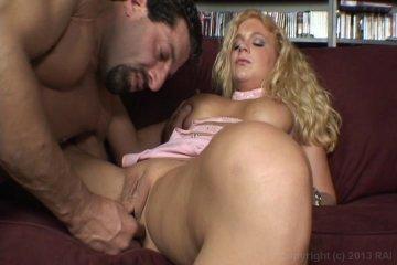 sexy blonde squirting big dick big balls
