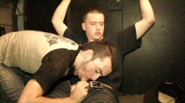 Restrained and drained scene 7