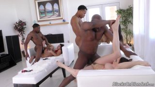 Streaming porn video still #8 from Interracial Double Penetrations Vol. 3