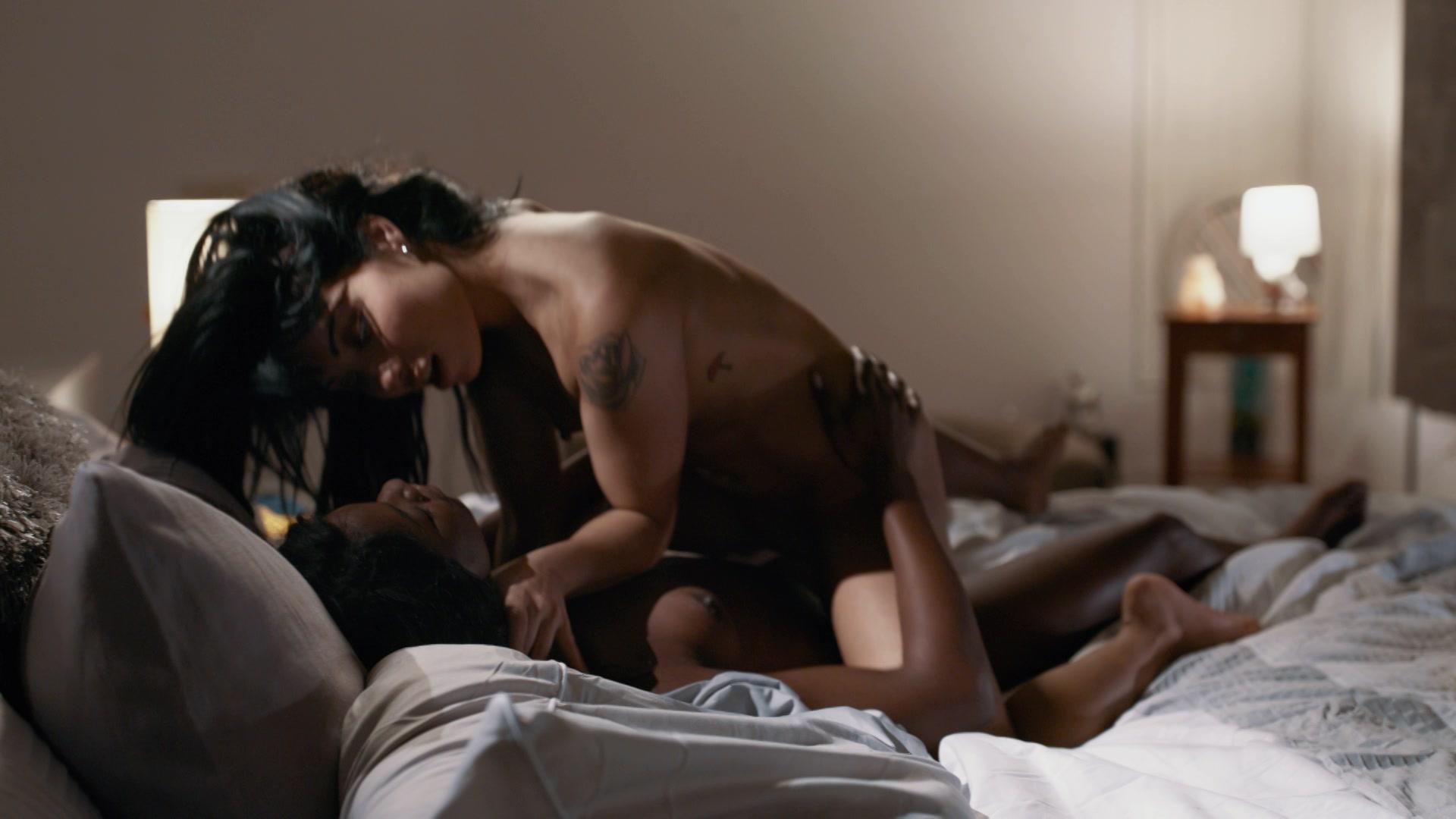 Lesbian black asian