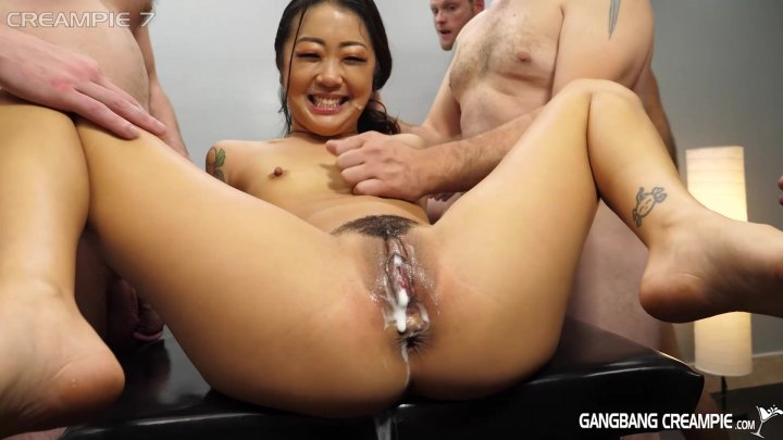Streaming porn video still #1 from Gangbang Creampie Petite Asians Edition Vol. 2