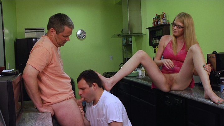 Streaming porn video still #5 from You Must Suck Cock