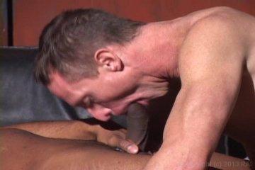 Hot guy loves black hard cock