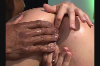 Streaming porn video still #4 from White Asses Swallow Chocolate Cocks