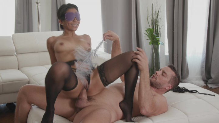 Streaming porn video still #1 from Hotwife Blindfolded 5, A