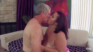 Streaming porn scene video image #1 from Old Man Fucks BBW