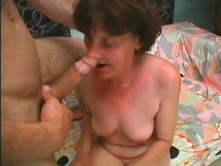 Streaming porn scene video image #9 from Grandam banged hard by nephew