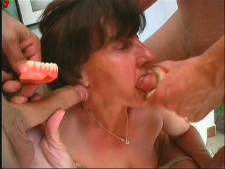 Streaming porn scene video image #2 from Grandma gets hammered by grandsons