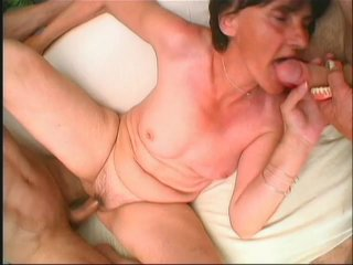Streaming porn scene video image #9 from Grandma gets hammered by grandsons