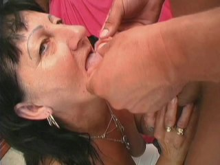 Streaming porn scene video image #2 from Grandnephew cumms on grandmas plaque