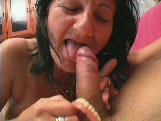 Streaming porn scene video image #3 from Grandnephew cumms on grandmas plaque