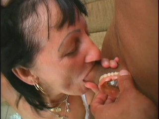 Streaming porn scene video image #2 from Two young dicks nails mature lady