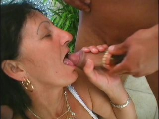 Streaming porn scene video image #3 from Two young dicks nails mature lady
