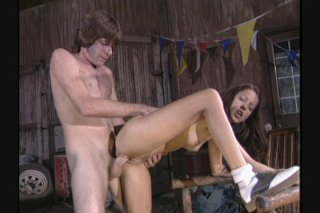 Streaming porn scene video image #7 from Gorgeous Young Brunette Fucks Her Mechanic