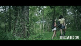 Streaming porn video still #3 from Teens In The Woods: Gina Valentina