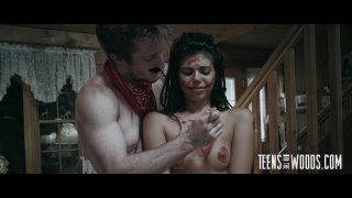 Streaming porn video still #8 from Teens In The Woods: Gina Valentina