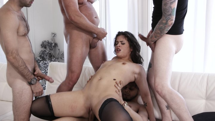 Streaming porn video still #1 from Gangbang Auditions #35