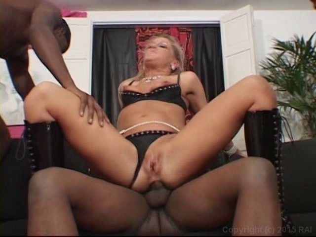 Streaming porn video still #1 from My Sister's First Black Gang Bang 2