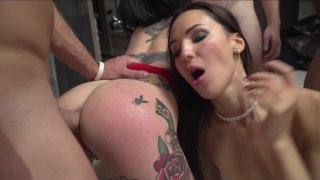 Streaming porn video still #5 from Rocco Siffredi Hard Academy Part 4 . . . Goes Live
