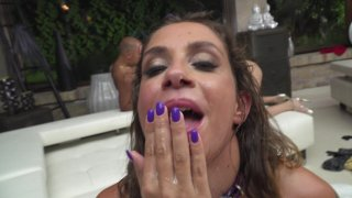 Streaming porn video still #9 from Rocco Siffredi Hard Academy Part 4 . . . Goes Live