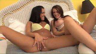 Streaming porn video still #2 from Lesbian Butt Munchers 3