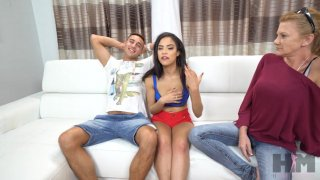 Streaming porn video still #1 from Devil's Threesomes