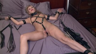 Streaming porn video still #4 from Taboo Teens: Paddled & Plugged