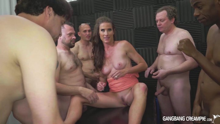 Gangbang Creampie Fuck And Fill My Wife, Please Streaming -1300