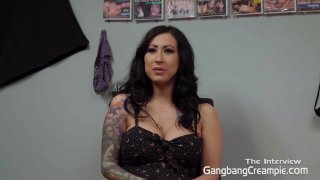 Streaming porn video still #1 from Gangbang Creampie: Ink'd Edition 2