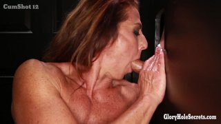 Streaming porn video still #9 from Gloryhole Secrets: Muscle MILFs Edition