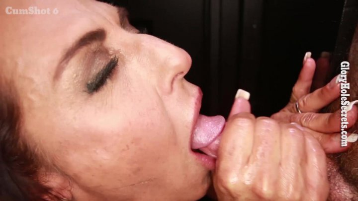 Streaming porn video still #1 from Gloryhole Secrets: Muscle MILFs Edition