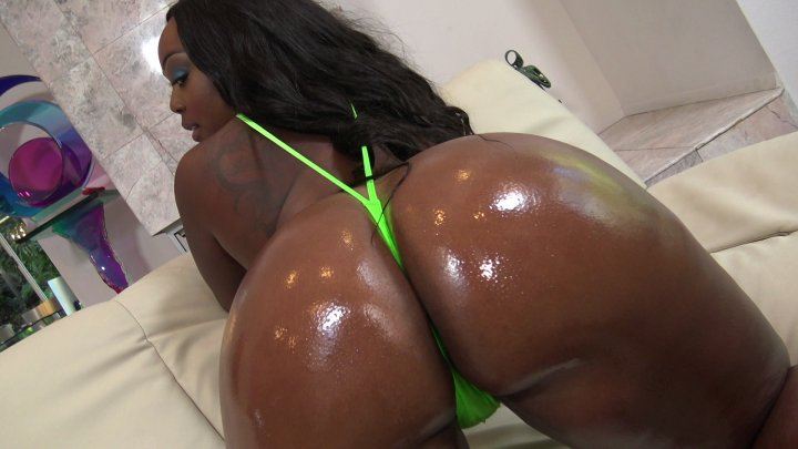Streaming porn video still #1 from Big Black Wet Asses! 16