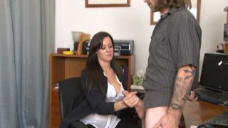Streaming porn video still #5 from Monsters Of Jizz Vol. 33: Clothed Female Nude Male