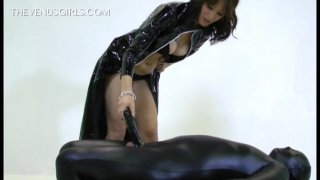 Streaming porn video still #4 from Jersey Black's Femdom Fanatics Vol. 2