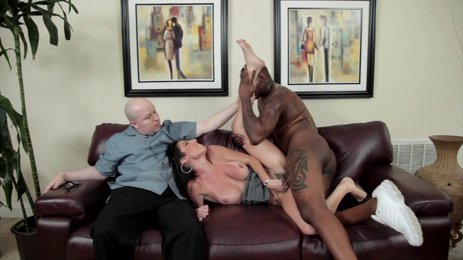 Dava foxx cuckold her husband with big black dick therapist