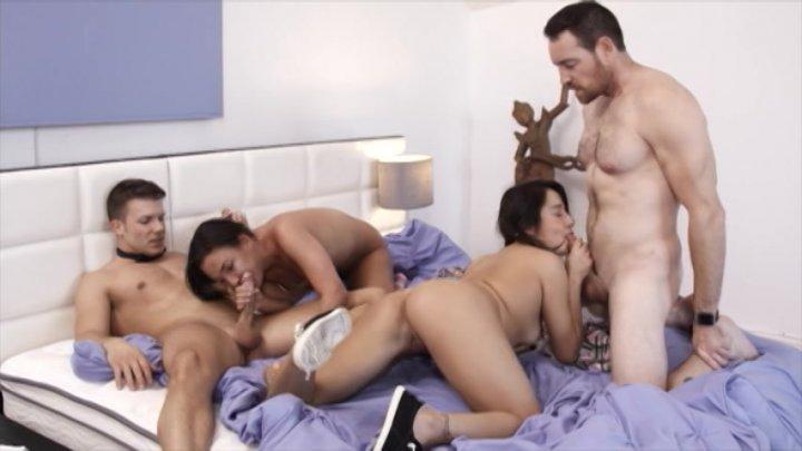 Streaming porn video still #1 from All Orgies 4 - 4 Hrs