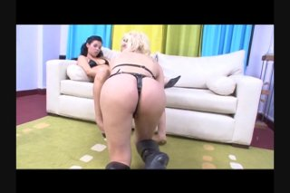 Streaming porn video still #1 from Lesbian Tranny Fantasies 2