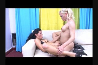 Streaming porn video still #9 from Lesbian Tranny Fantasies 2