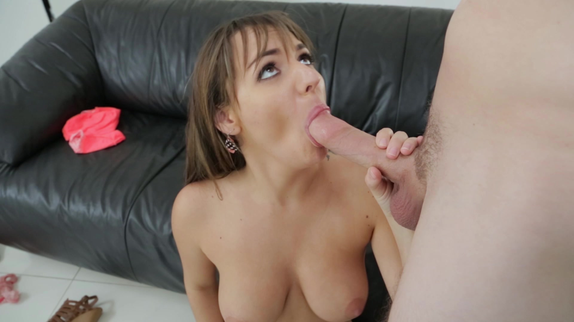 Teen blow job audition