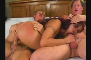 Streaming porn scene video image #6 from Redhead Loves Cocks in Both Holes
