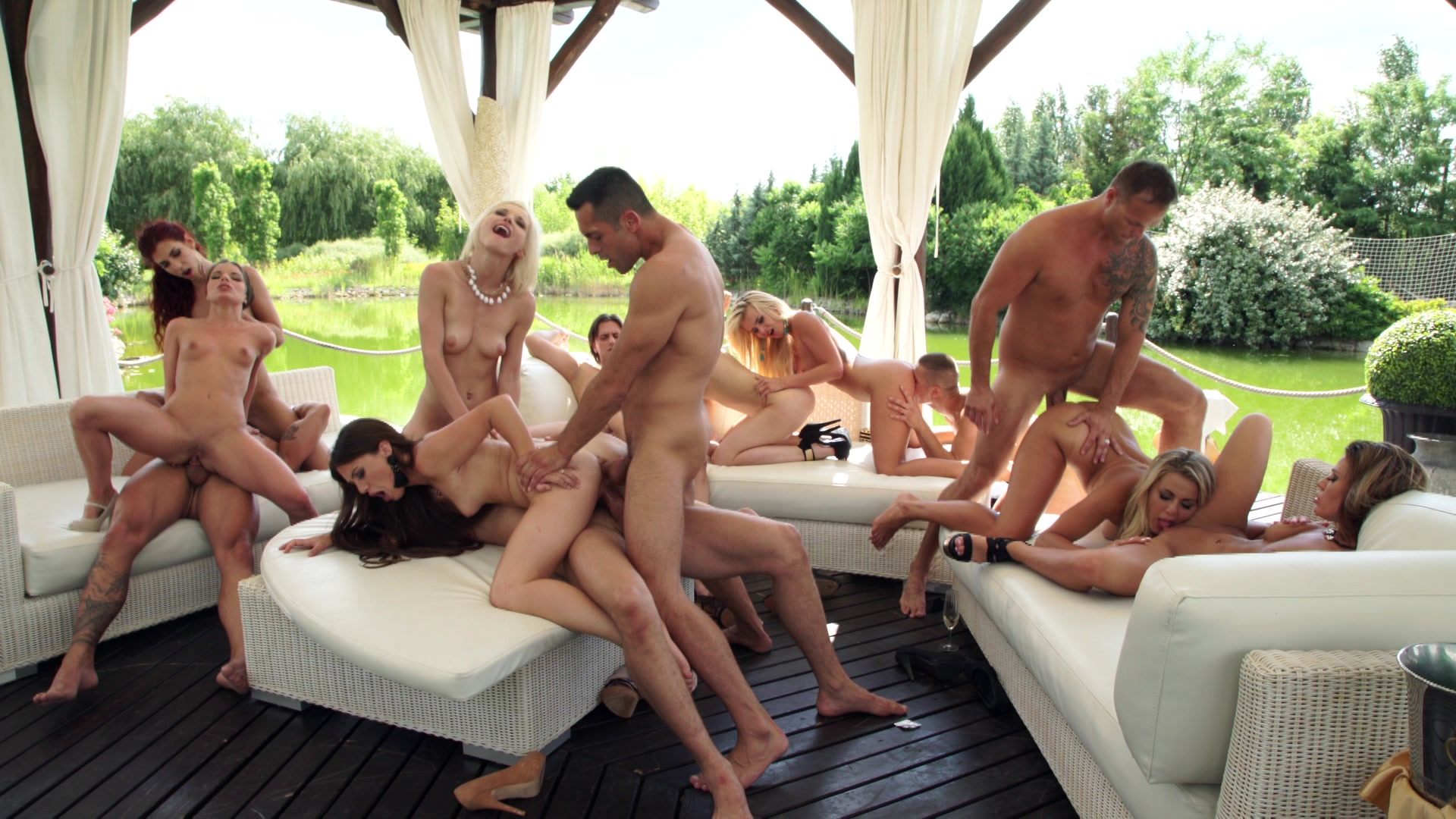 Mass orgy video — pic 1
