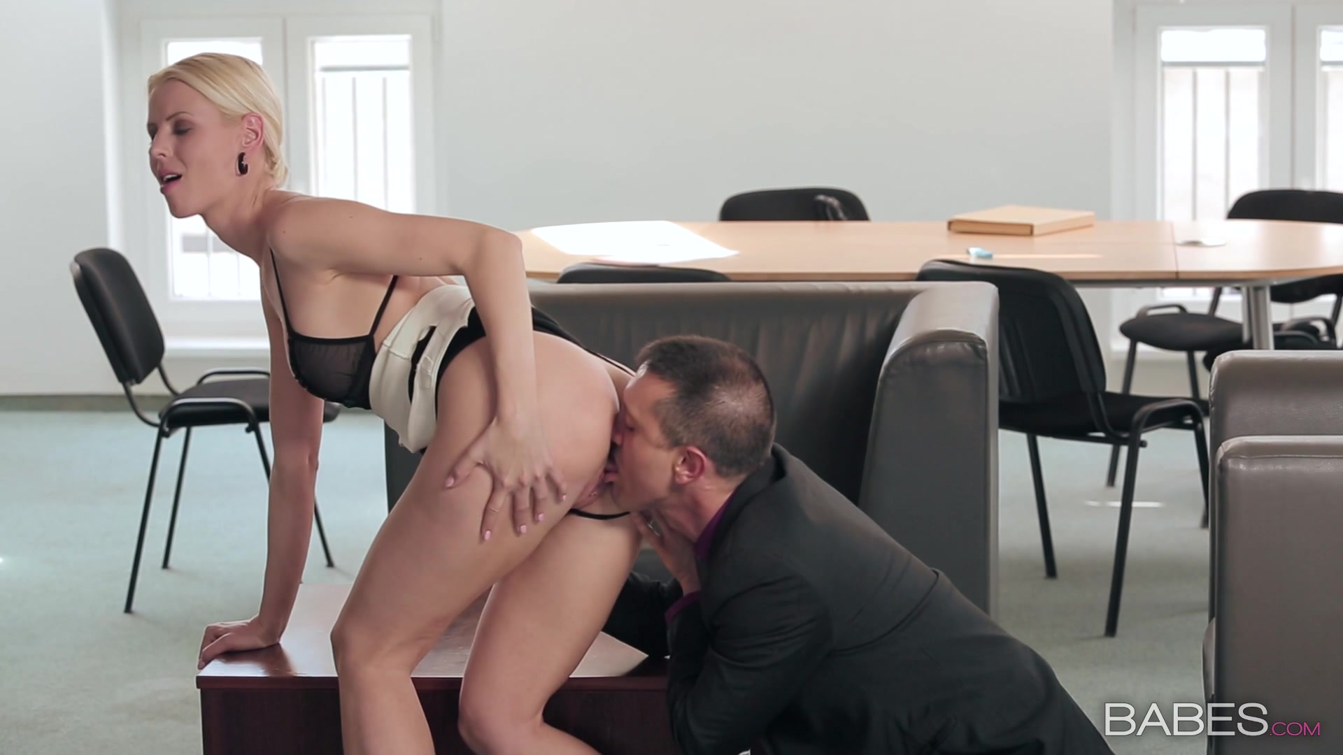 Business babe porn