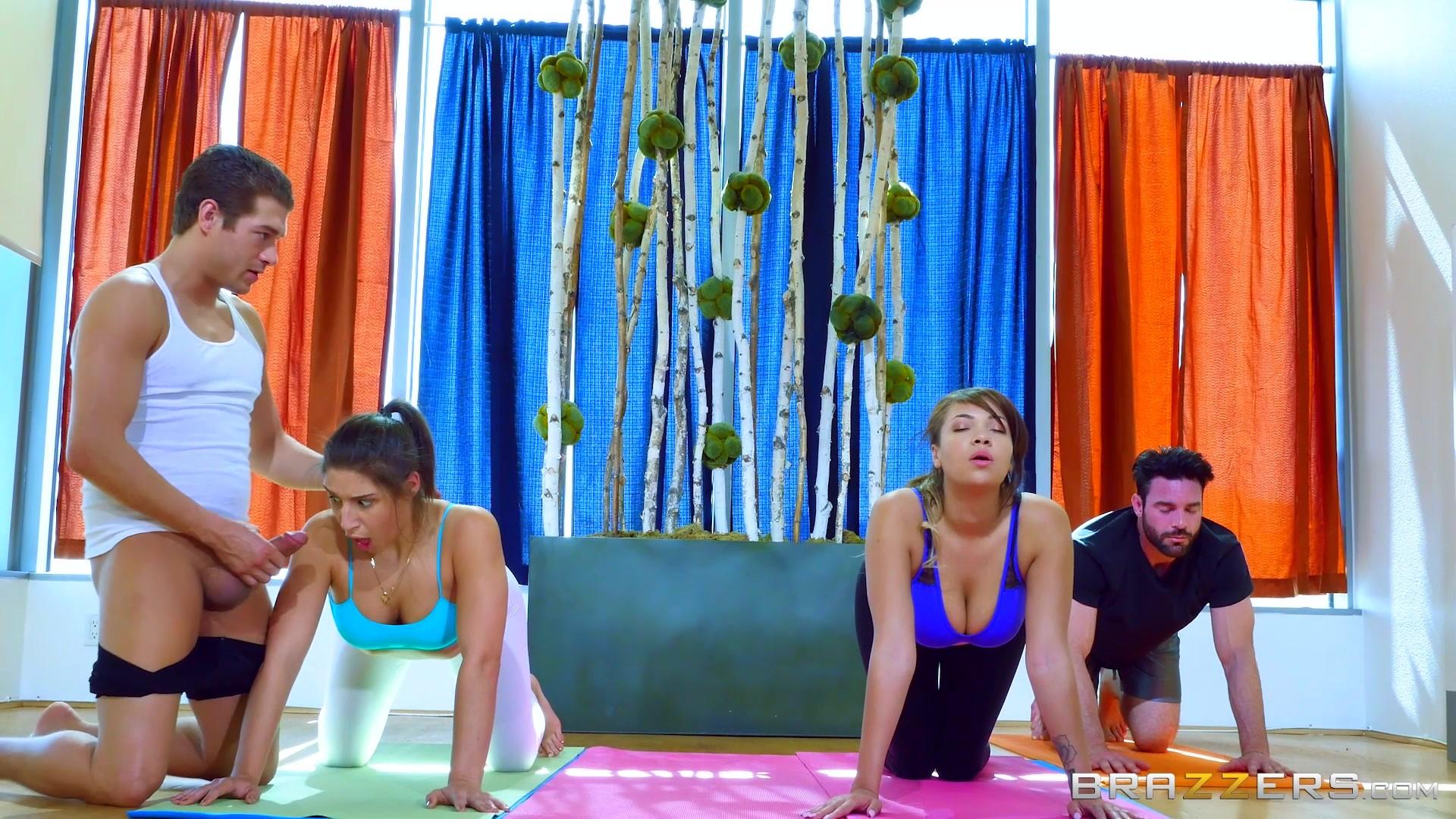 Showing Porn Images For Abella Danger Yoga Class Porn -9956