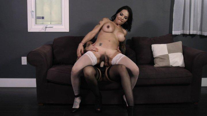 Streaming porn video still #5 from Pornstars Love Trannies #7